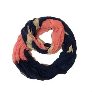 Target Soft Multi-Color Striped Infinity Scarf